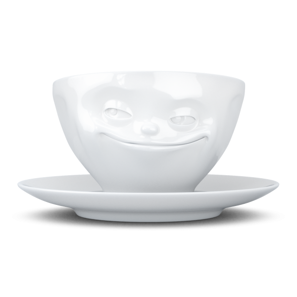 """Fiftyeight Kaffeetasse """"grinsend"""""""