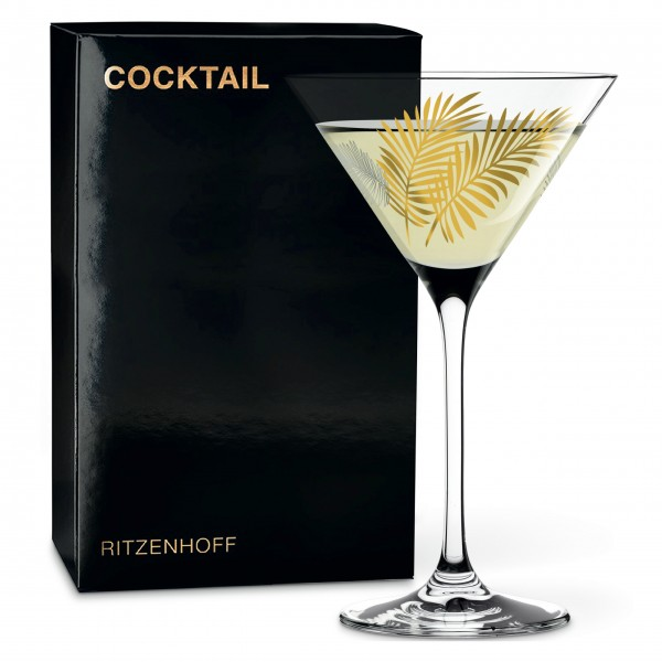 Ritzenhoff Cocktailglas Stockebrand (Leaves)