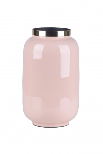 Vase Saigon blush/gold S
