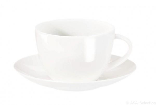 Kaffee- und Untertasse