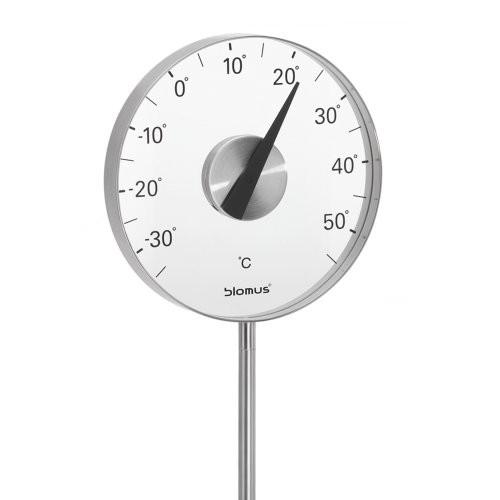 Blomus Gartenthermometer GRADO Celsius Edelstahl matt
