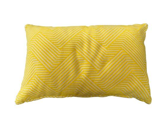 Moderne Kissenhülle Gelb