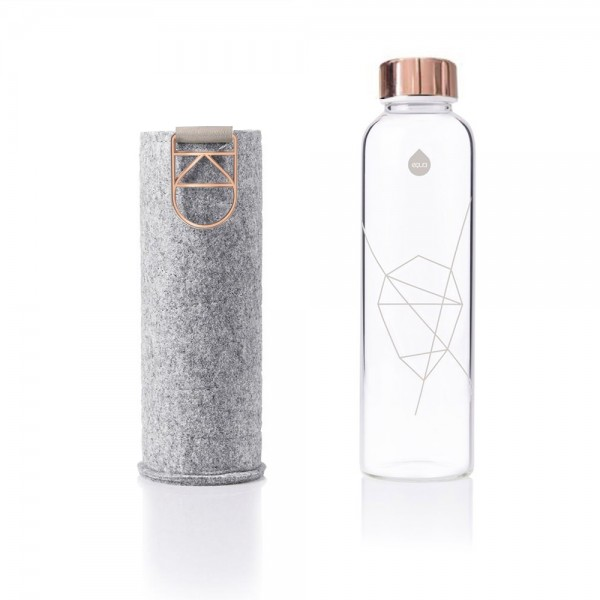 Equa Trinkflasche Mismatch Rose Gold