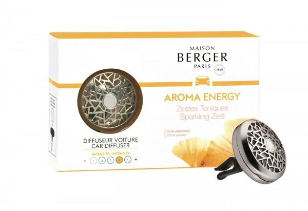 Maison Berger Auto Diffuser Aroma Energy