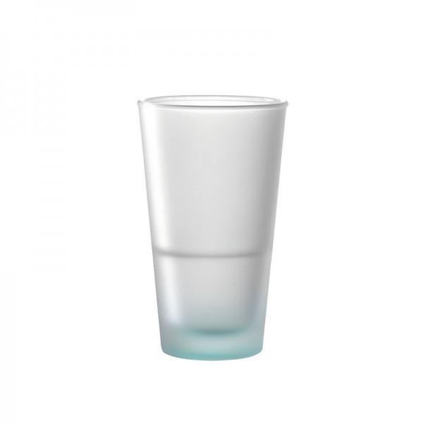 """Leonardo Trinkglas """"Arona"""" matt türkis 330ml"""