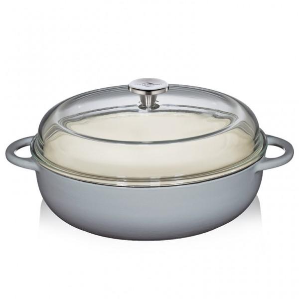 "Küchenprofi Bauernpfanne ""Provence"" grau"