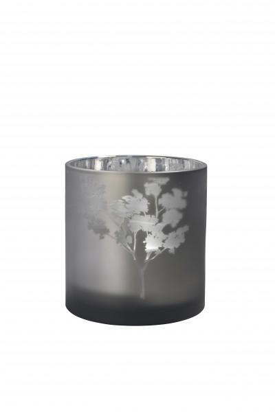 Sompex AWHIA Windlicht silber/grau