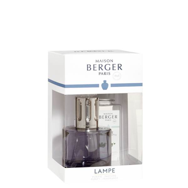 Lampe Berger Set Pure Grau