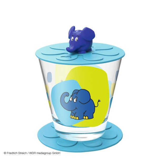"Leonardo Bambini 3tlg. Kindertrinkset 215ml ""Elefant"""