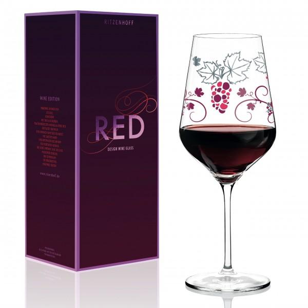 Ritzenhoff Rotweinglas von verschiedenen Designern