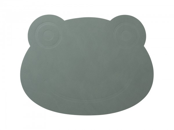 "LIND DNA Table Mat ""Frosch"" pastell grün"