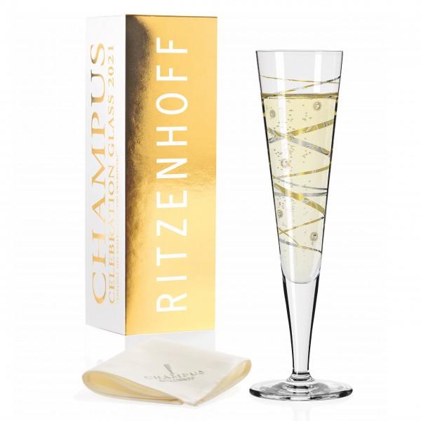 Ritzenhoff Champus Jahrgangs-Champagnerglas 2021