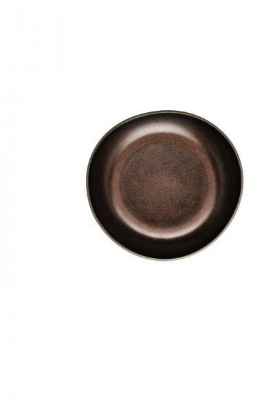 Rosenthal Junto Teller tief 22cm Bronze