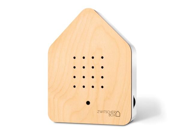 Zwitscherbox Wood Ahorn/weiß
