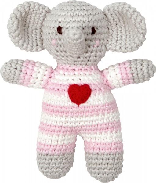 Coppenrath Häkel-Rassel Elefant BabyGlück, rosa