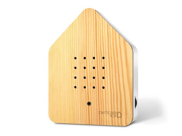 Zwitscherbox Wood Kiefer/weiß