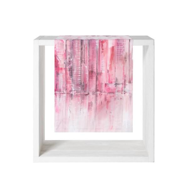Proflax Tischläufer Skyline Pink