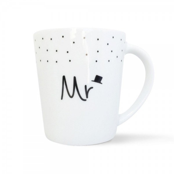 """Mintkind Tasse """"Mr oder Mrs"""""""