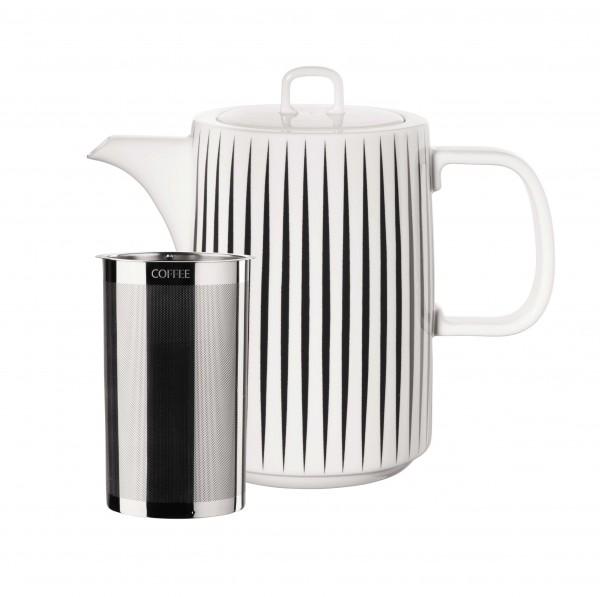 """ASA Kaffeekanne """"Muga"""" stripes"""