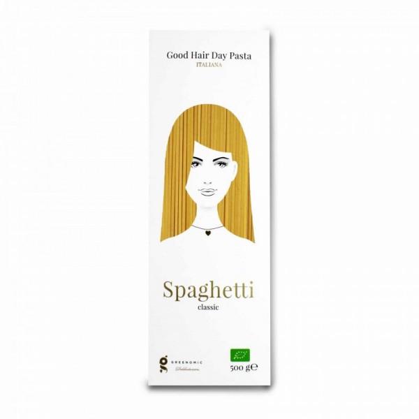 Greenomic Good Hair Day Pasta Spaghetti Classic 500g