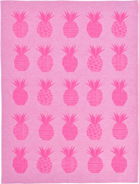 """Sander Geschirrtuch """"Ananas"""" fuchsia/pink"""