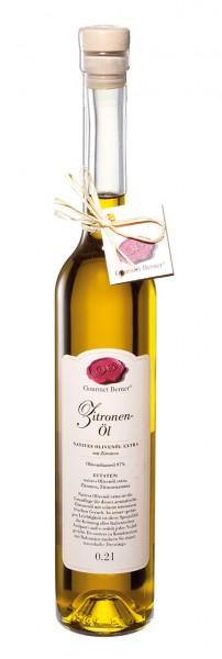 Gourmet Berner Zitronen-Öl 0,2 l