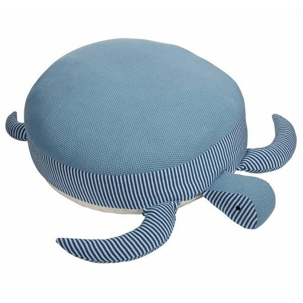 PAD Turtle Sitzpuff 70cm Aqua