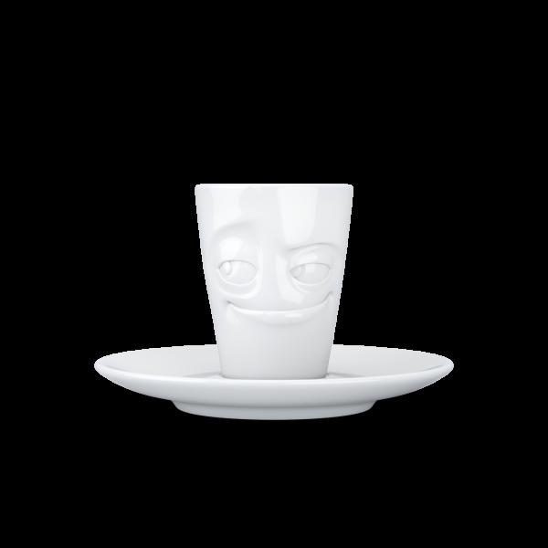"""Fiftyeight Espresso Mug mit Henkel """"Verschmitzt"""""""