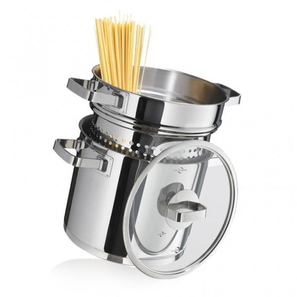 """Küchenprofi Kochtopf mit Pastaeinsatz """"San Remo"""""""