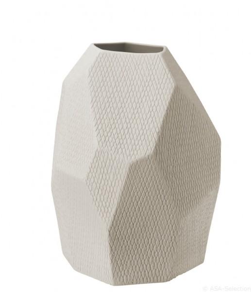 """ASA Vase """"Carat"""" natur 22cm"""