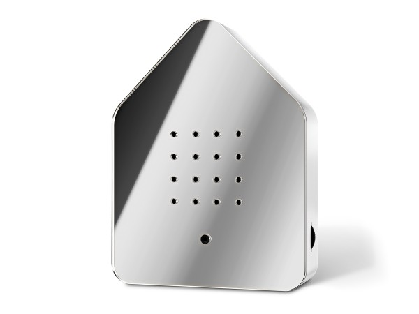 Zwitscherbox Limited Spiegel Silber