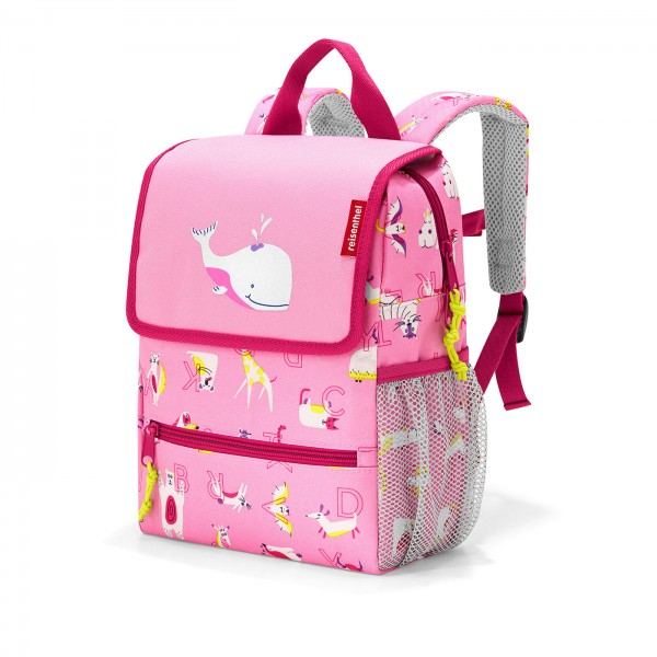 Reisenthel backpack kids abc friends pink