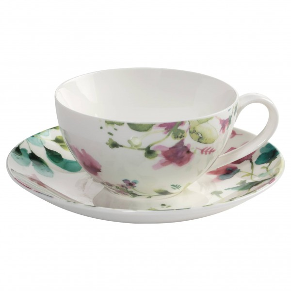 "Maxwell & Williams Tasse mit Untertasse ""Primavera"""