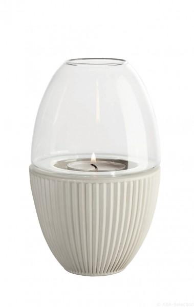 """ASA Windlicht mit Glaszylinder """"Yoko"""" natur"""