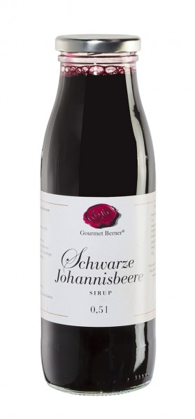 Gourmet Berner Schwarzer Johannisbeere Sirup