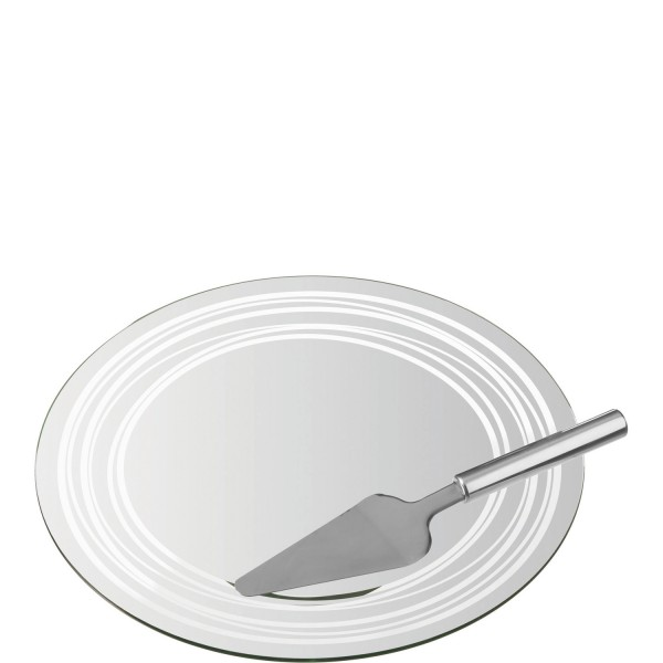 Leonardo Tortenplatte/Tortenheber LIMITO 2-teilig 35 cm