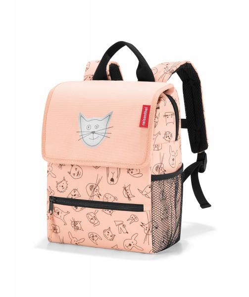 "Kinderrucksack ""cats and dogs"" rose"