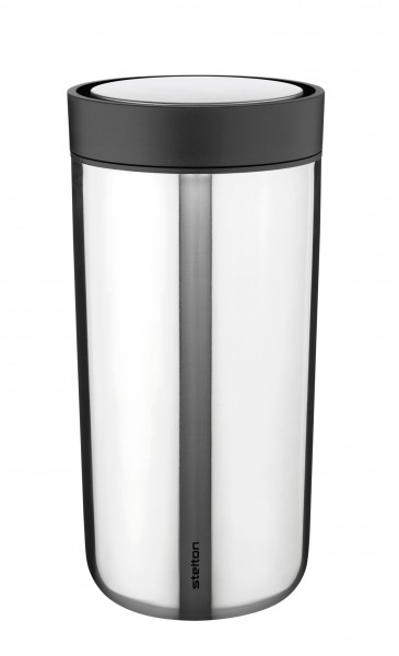 """Stelton Thermobecher """"to go click"""" edelstahl"""