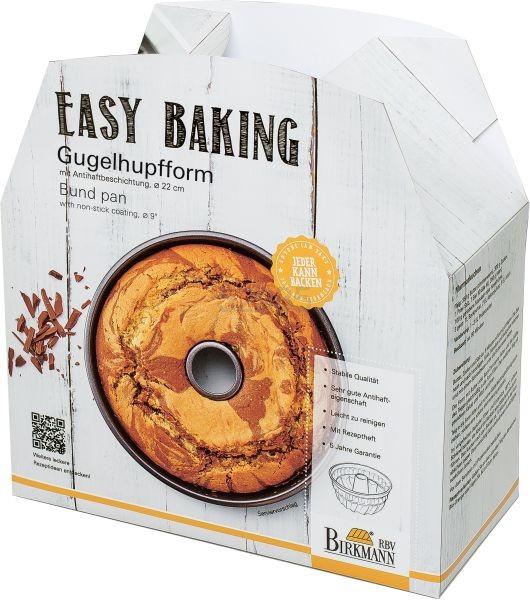 """Birkmann Gugelhupfform """"Easy Baking"""" 22cm"""