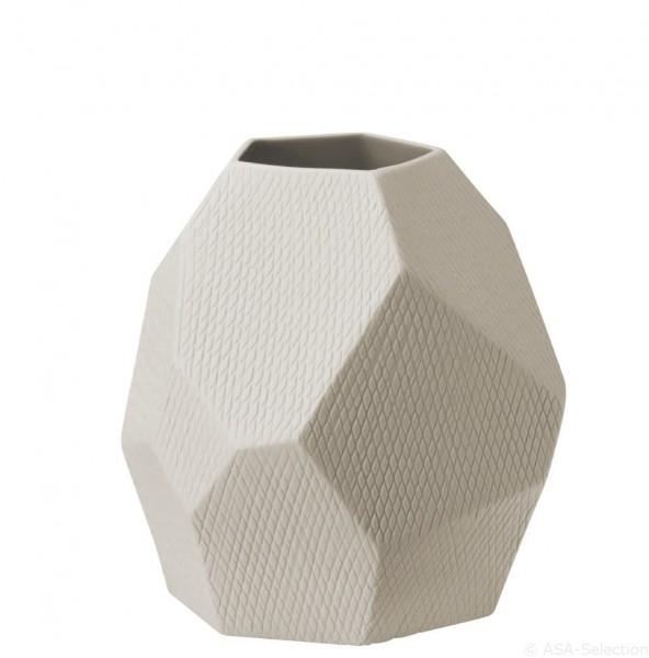 """ASA Vase """"Carat"""" natur 17cm"""