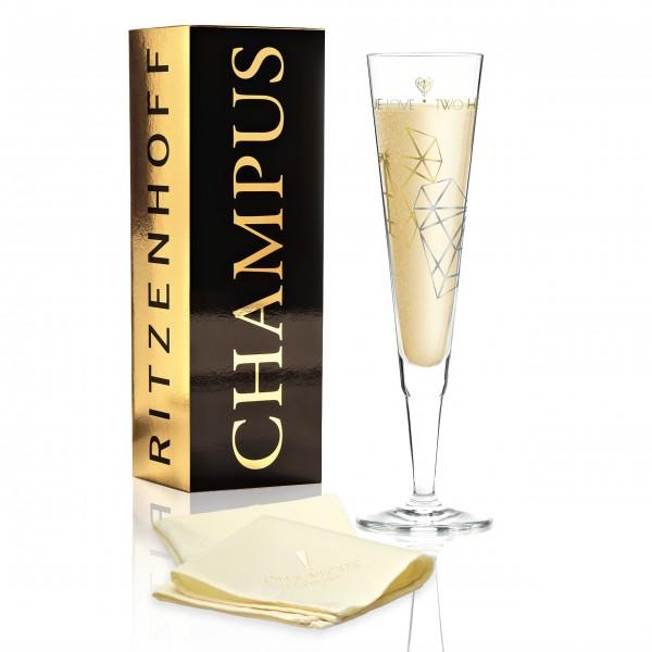 Ritzenhoff Champagnerglas Schiewer
