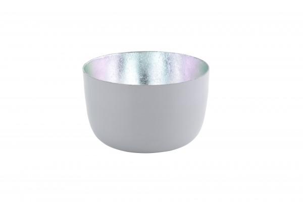 Windlicht Madras cool grey shiny/silber S