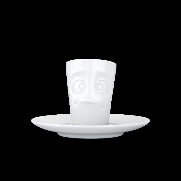 """Fiftyeight Espresso Mug mit Henkel """"Verdutzt"""""""