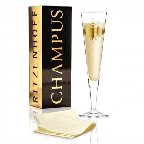 Ritzenhoff Champagnerglas Rosenkranz