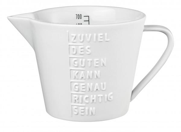 """Räder Messbecher """"Zuviel des Guten..."""""""