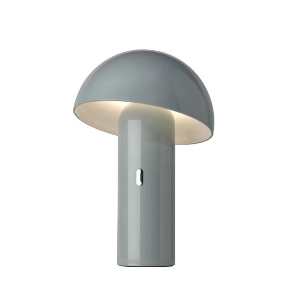 Sompex tragbare LED-Leuchte Svamp grau